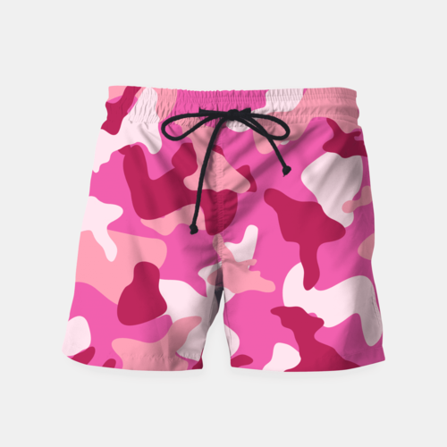 Pink Camouflage Army Pattern Shorts - Only Real Adventure - Outdoor Apparel, Gear & Tech