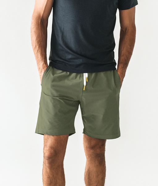 Olive Plain Shorts - Only Real Adventure - Outdoor Apparel, Gear & Tech