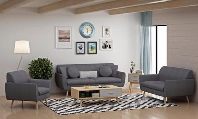 Candace Grey Sofa Collection
