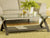 Dinah Espresso Glass Coffee Table