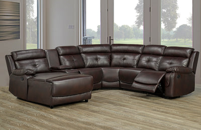 Recliner with Chaise Sectional
