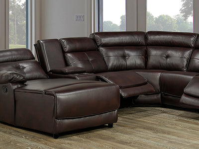 Recliner Sectional with XL Chaise