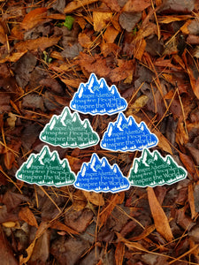 Inspire adventure stickers!