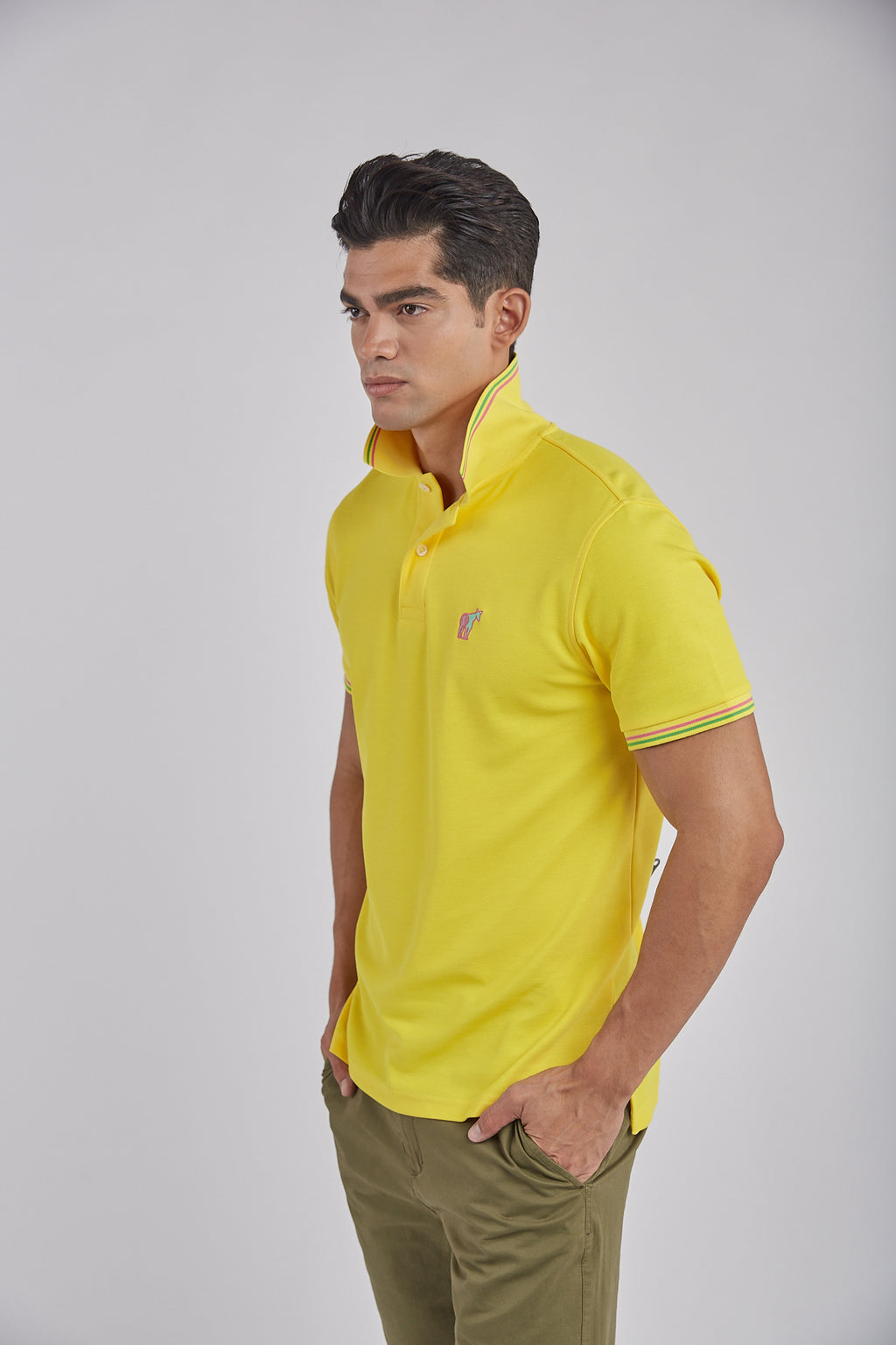 Polo Luxé - Canary Yellow