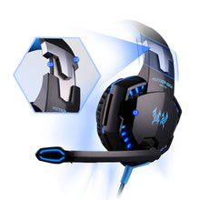 Stereo Gaming Headphones  Deep Bass Game Earphone Headset with Mic LED Light for PC Gamer