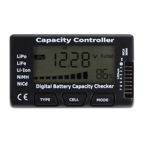 LCD Digital Battery Tester  for LiPo LiFe Li Battery