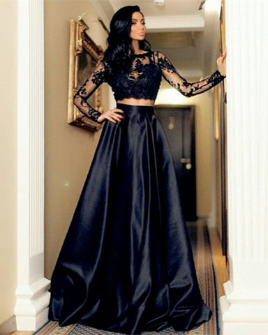 Image of 2-Piece-Prom-Gowns