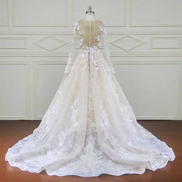 Lace-Bridal-Dress