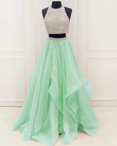 Image of mint-green-prom-dresses