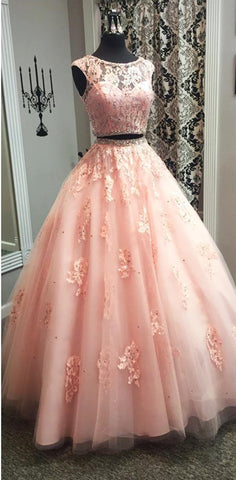 Image of Two-Piece-Quinceanera-Dresses