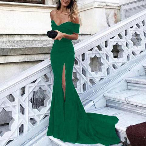 Hunter-Green-Prom-Dresses