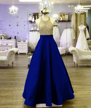 Load image into Gallery viewer, Royal Blue Formal-Gowns