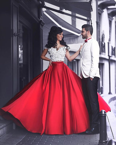 Image of Prom-Dresses-Two-Piece
