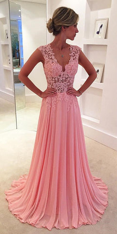 Image of Pink-Formal-Dresses