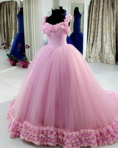 Image of light pink quinceanera dresses