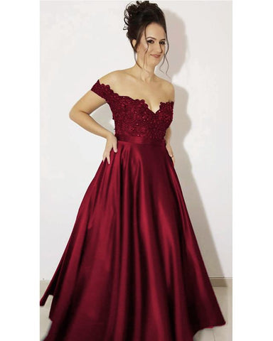 Image of Off-Shoulder-Dresses