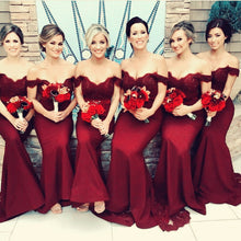 Load image into Gallery viewer, Mermaid-Dress-Bridesmaid