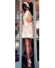 Load image into Gallery viewer, Keyhole-Back-Homecoming-Dresses