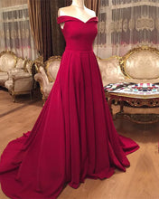 Load image into Gallery viewer, Red-Formal-Gowns