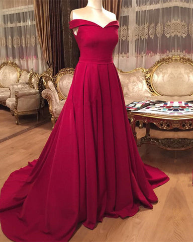 Image of Red-Formal-Gowns