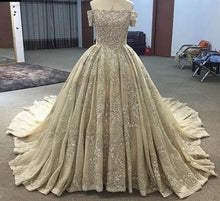 Afbeelding in Gallery-weergave laden, Luxury Lace Wedding Dresses Ball Gowns From Dubai