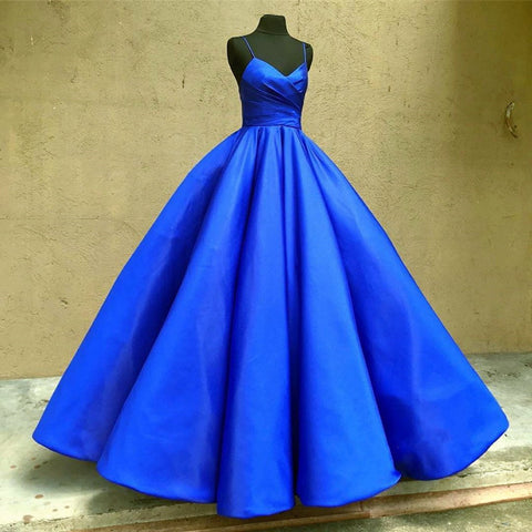 Image of Royal-Blue-Quinceanera-Dresses