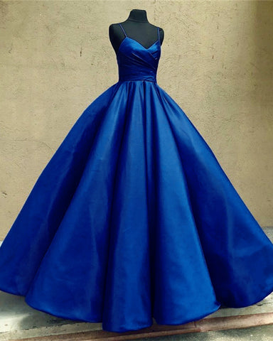 Image of Navy-Blue-Wedding-Dresses