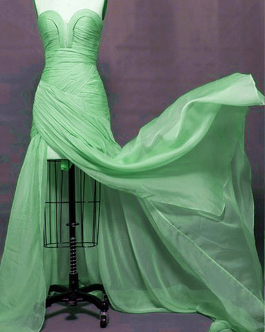Image of Kelly-Green-Prom-Dresses