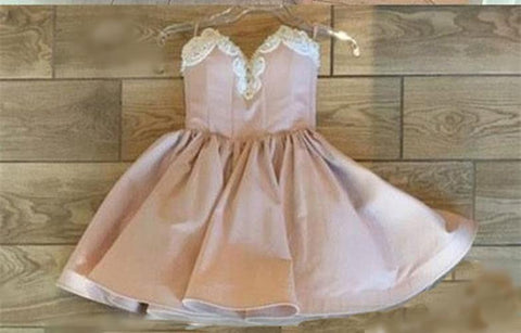 Image of pink homecoming dresses