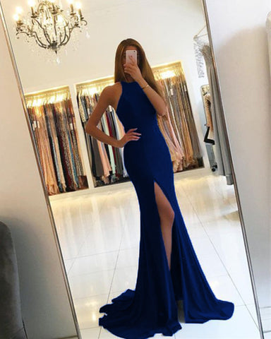 Image of navy-blue-prom-gowns