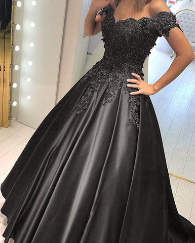 Image of black-prom-dress