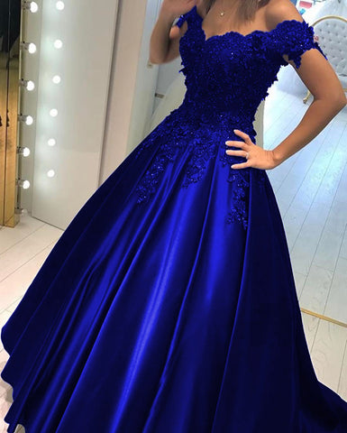 Image of royal-blue-ballgowns