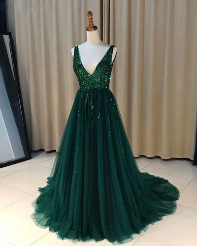 Dark-Green-Prom-Dress