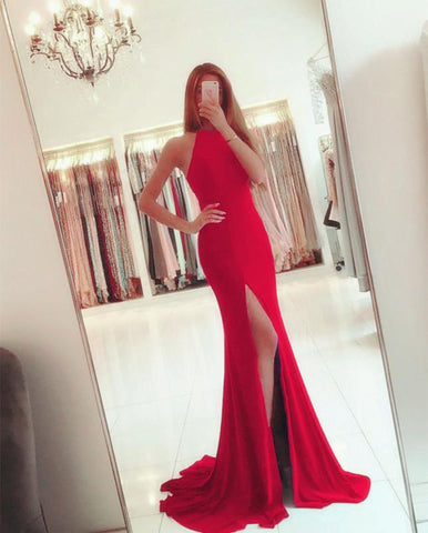Image of red-mermaid-dress