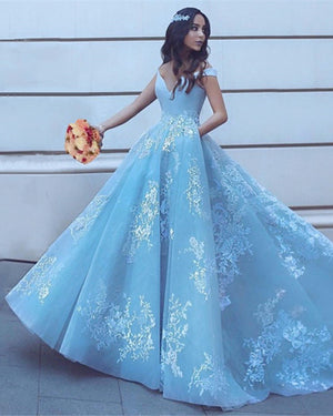 Light Blue Prom Dresses 2020