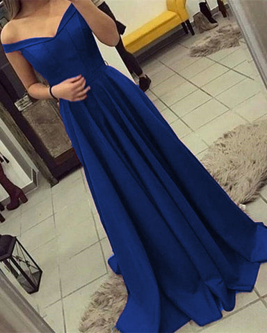 Image of Royal-Blue-Prom-Dresses