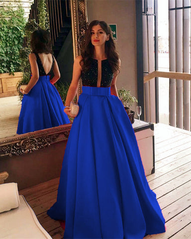 Image of Royal-Blue-Evening-Gowns