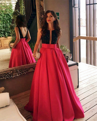 Image of Hot Pink Prom Dresses