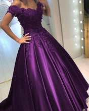 Afbeelding in Gallery-weergave laden, Purple-Quinceanera-Dresses