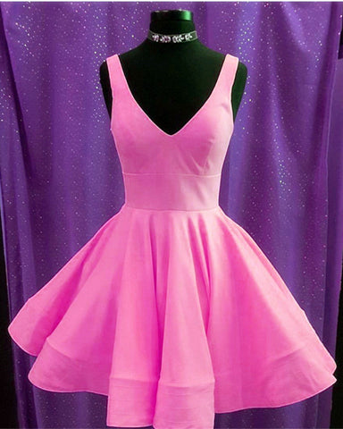 Image of Blush Pink Homecoming Dresses 2019