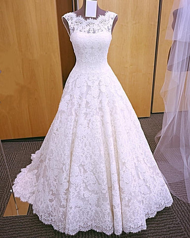 Image of Vintage Lace Wedding Dresses 2019