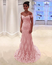 Load image into Gallery viewer, Light-Pink-Prom-Dresses