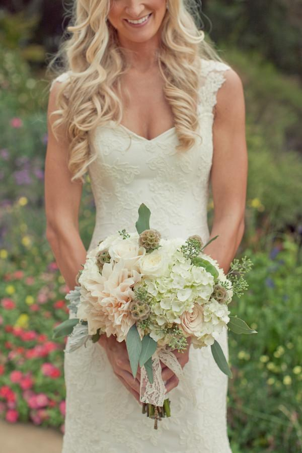 Ivory Lace Sweetheart Boho Wedding Dresses With Detachable Straps