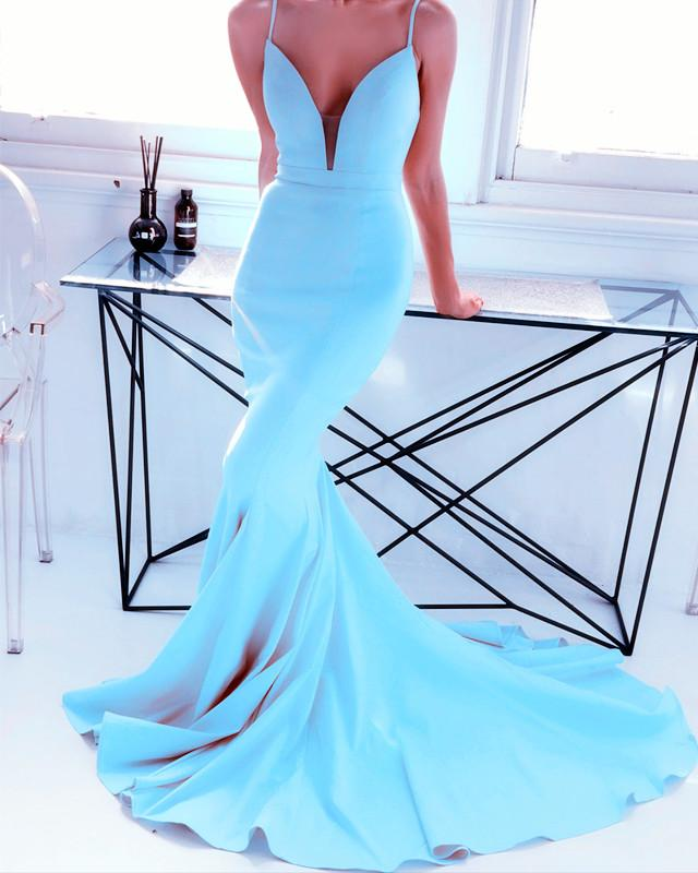 Baby-Blue-Prom-Dresses-Long-Satin-Mermaid-Evening-Gowns
