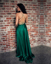 Load image into Gallery viewer, Lace Up Back Prom Dresses