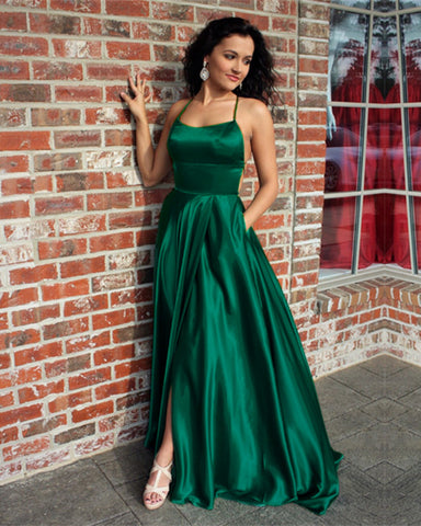Image of Green Prom Dresses 2019