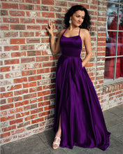 Load image into Gallery viewer, Royal Purple Prom Dresses