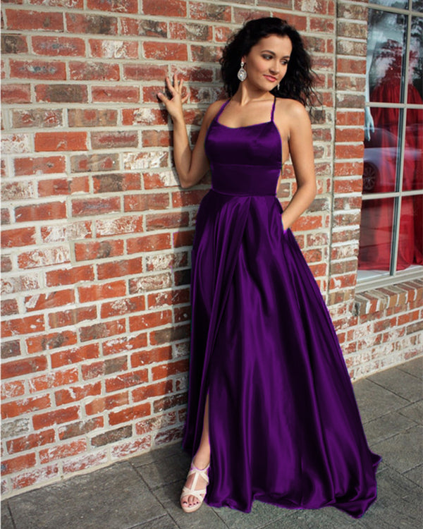 Royal Purple Prom Dresses