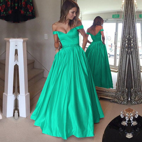 Image of Green-Prom-Dresses