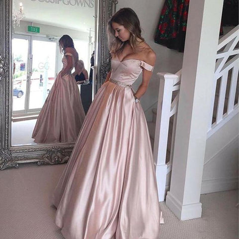 Image of pale-pink-prom-dress